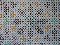 Tiles, Reales Alcazares, Seville