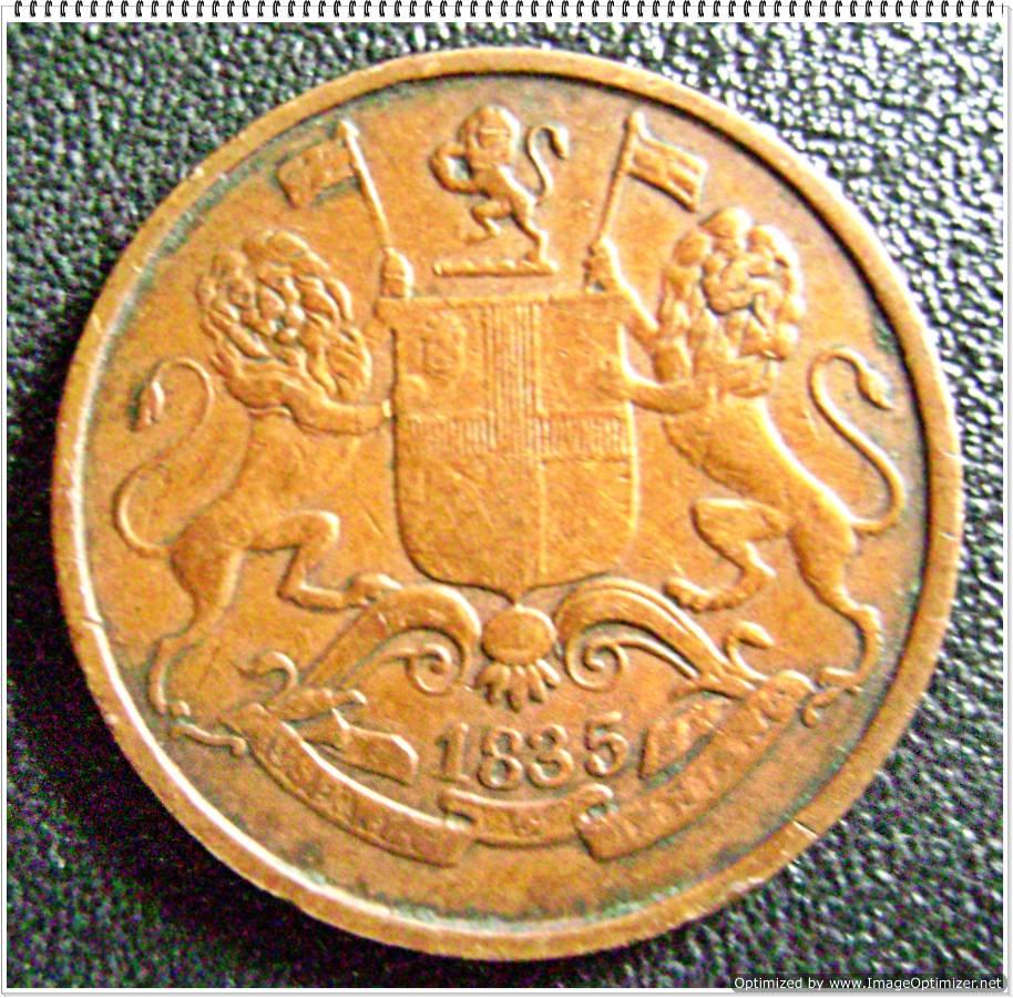1943 india 1 anna coin
