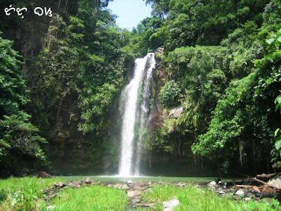 sampaloc falls laguna