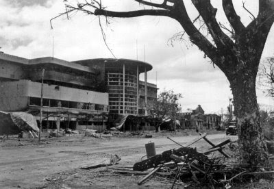 jai alai manila ruins world war 2