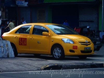 manila airport yellow taxi