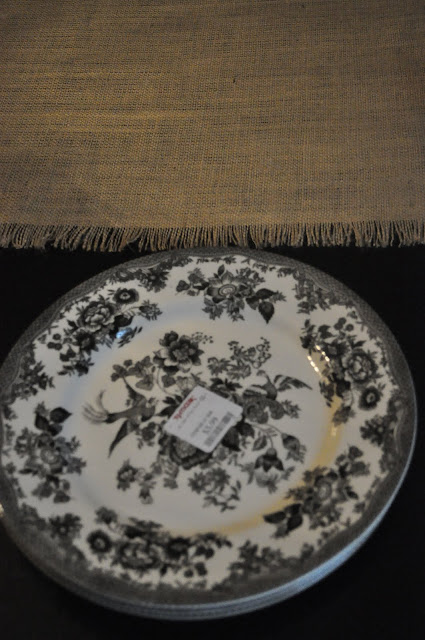 a very blessed nest  burlap table runner in under 10 minutes