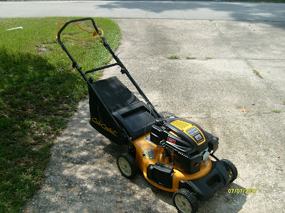 cub cadet push lawn mower. well, here it is - the one and only cub cadet cc550sp self propelled push mower. trouble i had getting a story in itself. lawn mower
