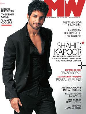 Shahid Kapoor on the Cover of MW Magazine
