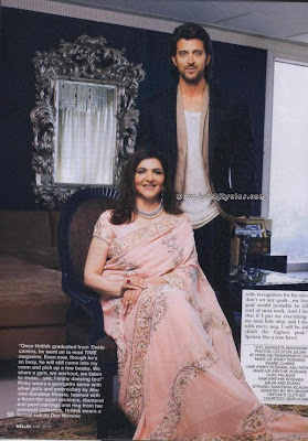Hrithik Roshan's mother