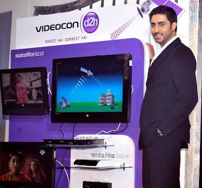 Abhishek Bachchan endorses Videocon d2h Service