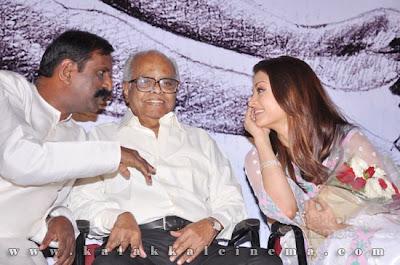 Aishwarya Rai Bachchan at Retta Suzhi Audio Launch