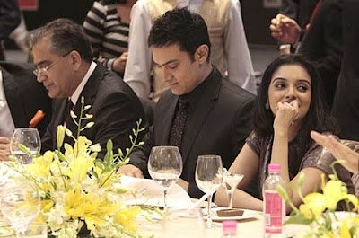 Asin Thottumkal at the Gala Dinner of the India Today Conclave