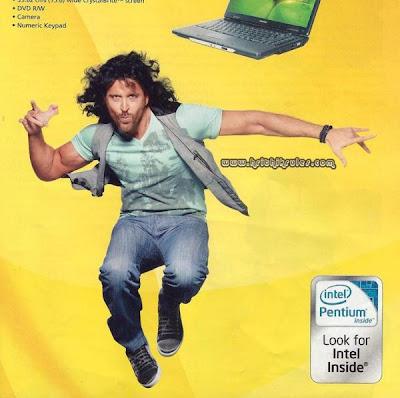 Hrithik Roshan in Intel Pentium Processor Ad
