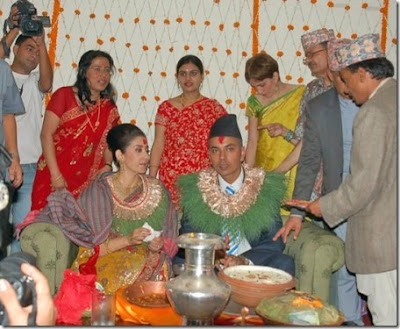 Manisha Koirala's Engagement