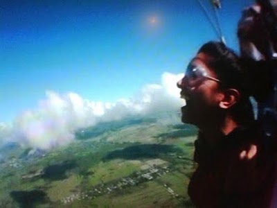Deepika Padukone Sky Diving