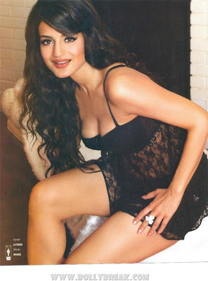 Amisha Patel on The Man Magazine