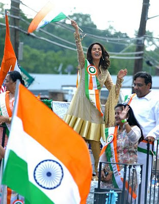 Mallika Sherawat at the India Day Parade