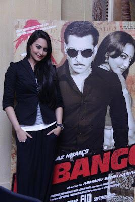Sonakshi Sinha promoting Dabangg
