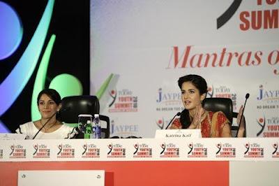 Katrina Kaif at the India Today Youth Summit