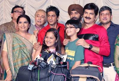 SRK meets Khichdi Starcast
