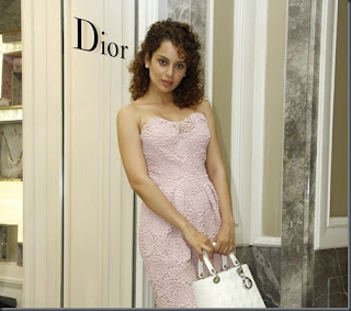 Kangana Ranaut at Dior Store Launch