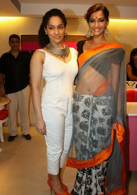 Sonam Kapoor at Masaba Gupta store launch