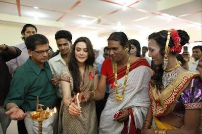 Preity Zinta at Humsafar Trust