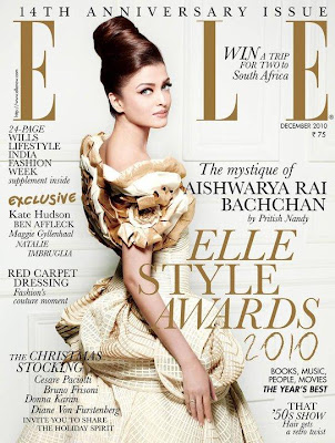 Aishwarya Rai on Elle Magazine