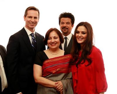 Preity Zinta with Dalton McGuinty