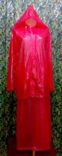 jas hujan rok wanita
