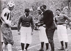 1931 Rose Bowl Cointoss vs. Washington St.