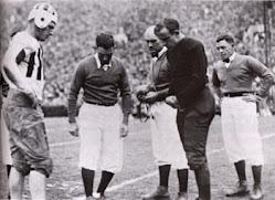 1931 Rose Bowl Cointoss vs. Washington St.