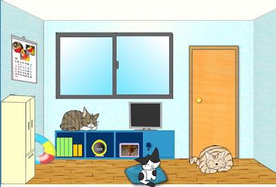 jugar Three Cats Zansyo