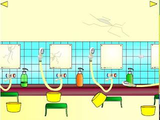 juegos de escape Sento (Japanese Public Bathhouse) solucion