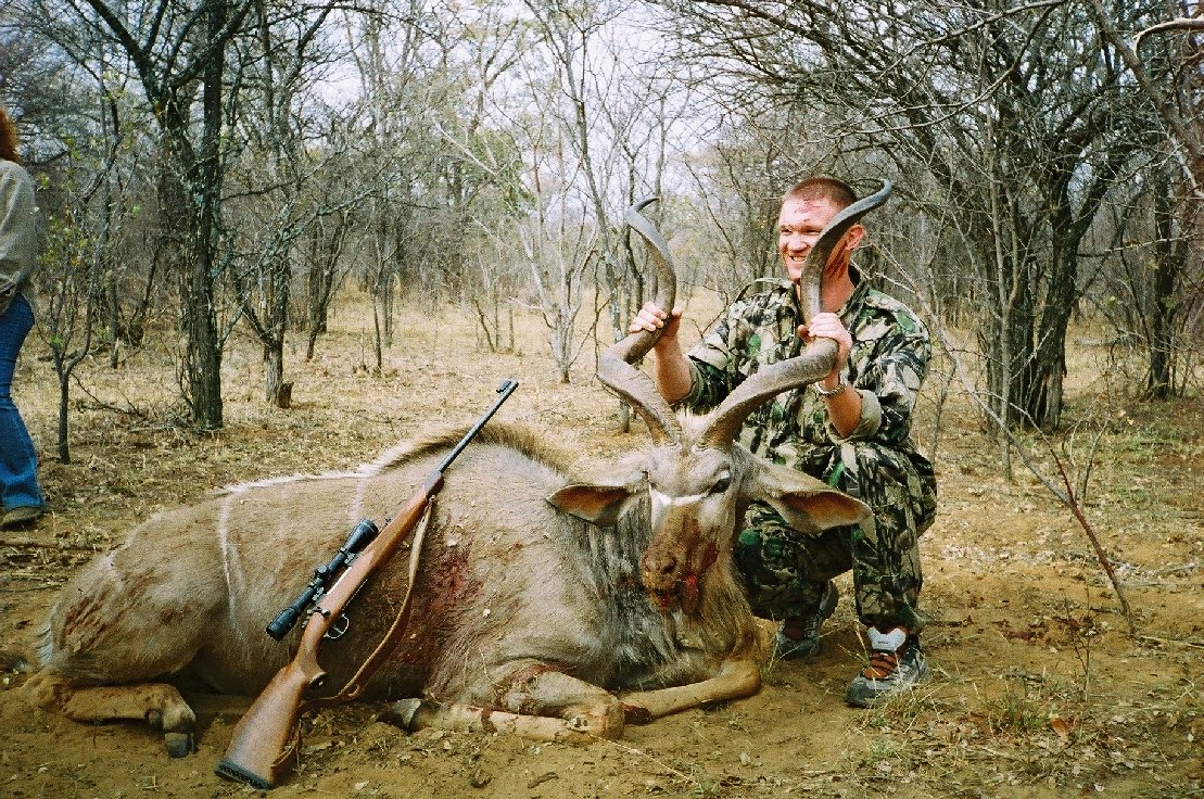 Hunting victim in Limpopo, Africa