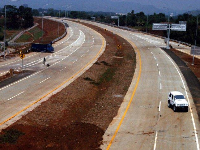 Tbk segera membangun akses jalan yang menghubungkan Jonggol