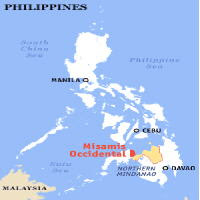 map of misamis occidental