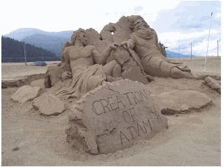 picture of sandcastle