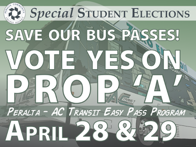 Vote YES on Proposition A, Peralta EasyPass