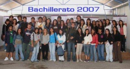 Bachillerato 2007
