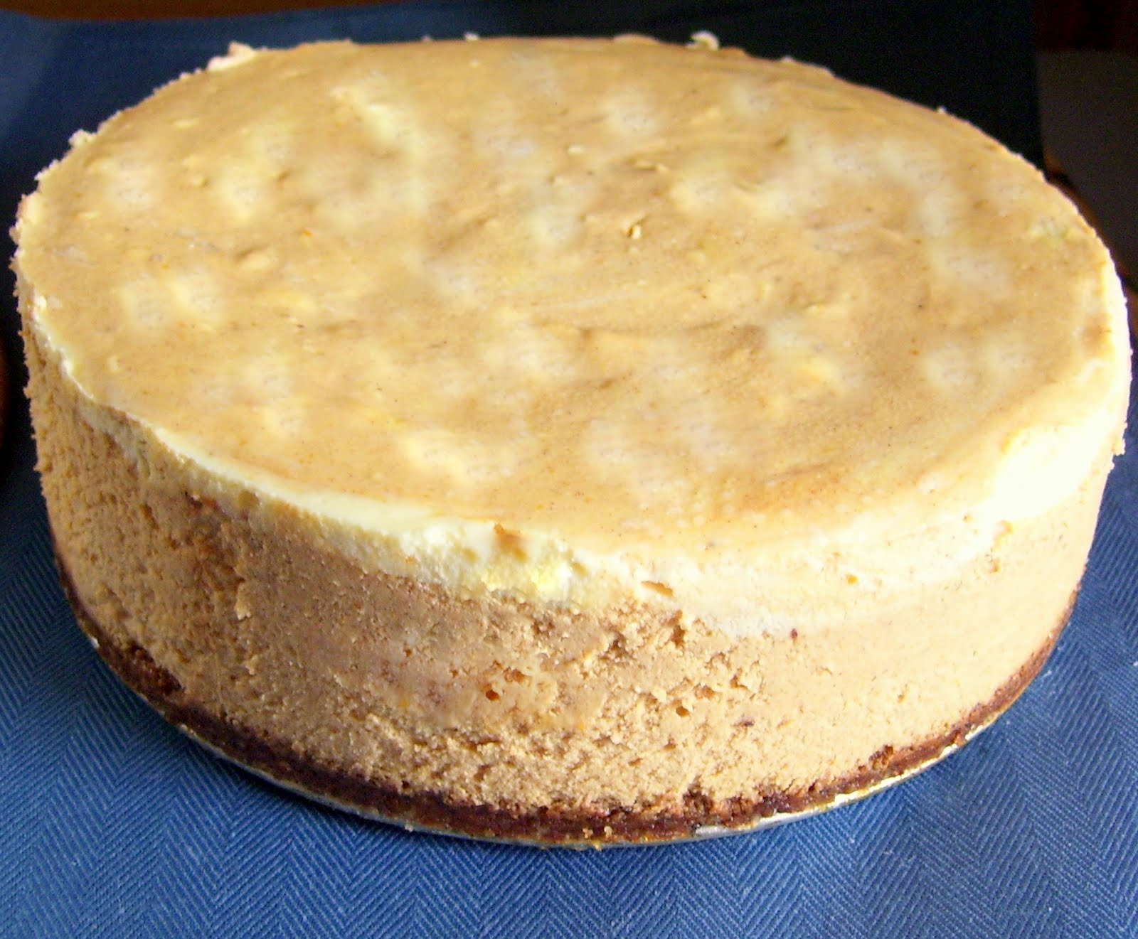 Everything4sweets: Pumpkin Swirl Cheesecake