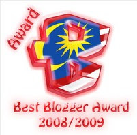 Award from Lily & Afkar'z