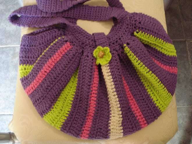 bolso de hilo colorido desde$60