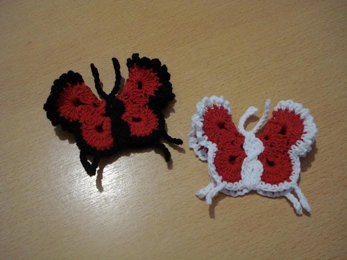 mariposas con iman $ 4