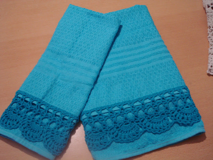 juego de toalla y toallón turquesa desde $ 70