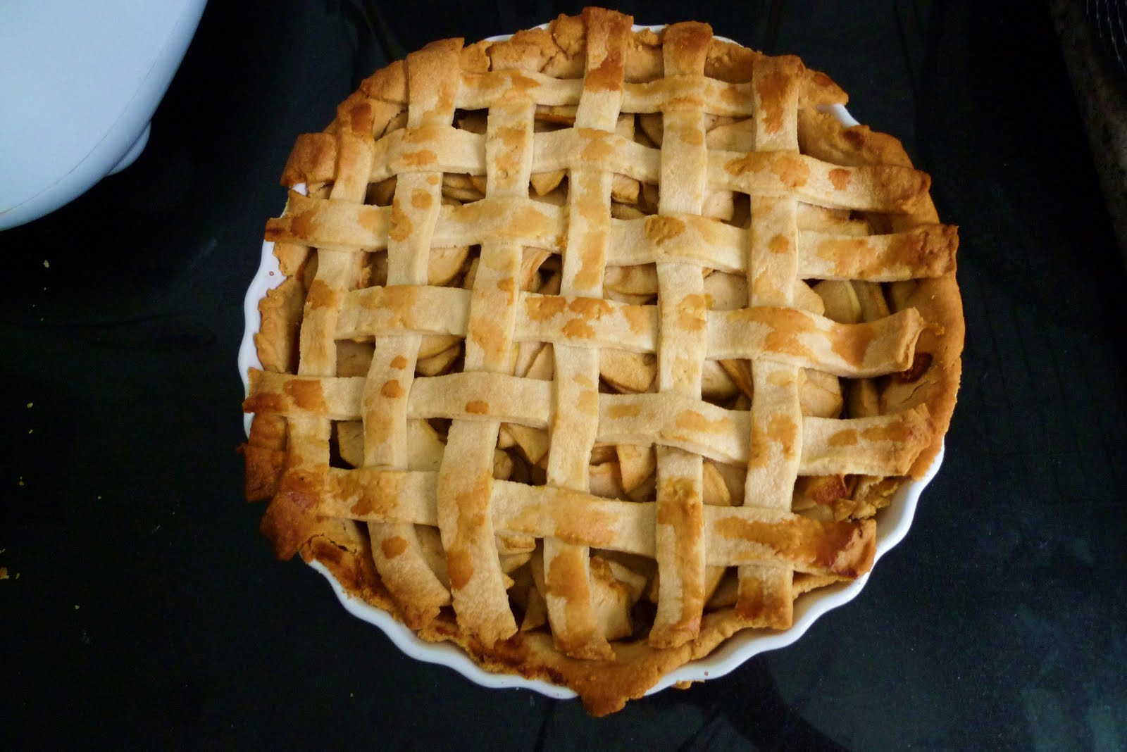 Lattice Apple Pie With Mexican Brown Sugar Recipes — Dishmaps