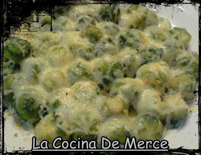 La cocina de merce coles de bruselas - Como cocinar coles de bruselas ...