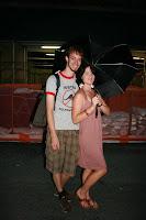 Bronwyn and I