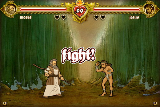 games bible fight