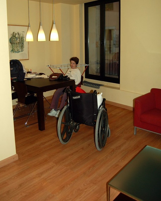 Urban travel sustainability accessibility finding a Wheelchair accessible housing