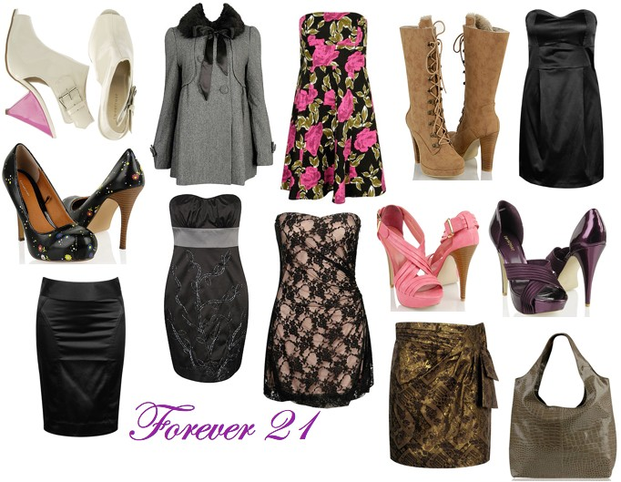 forever 21 clothing: