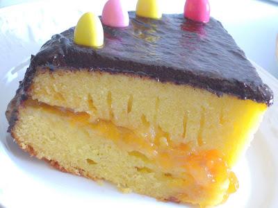 Tranche gâteau de Pâques