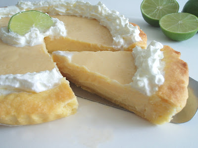 Tarte au citron vert des Keys