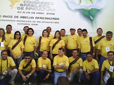 O CVT DE IPU PARTICIPA DO CONGRESSO DE APICULTURA REALIZADO EM ARACAJU/SE.